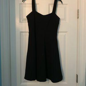 Midi Black Tanktop Dress